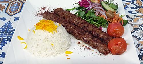 Chelo Kabab-Koobideh